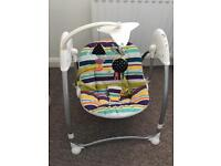 Automatic baby bouncer/swing chair