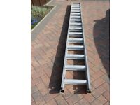 Clima Aluminium Ladders which extend from approx 4 to 7.5 Metres