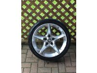Astra h / zafira b x1 penta alloy with 225/40/18 good tyre 07594145438
