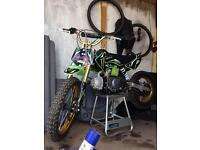 125 pit bike ( not yz kx cr rm ktm )