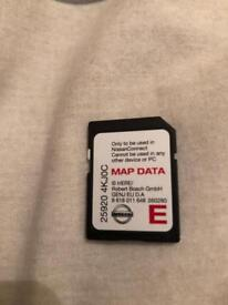 Nissan SD Card 2017. 25920 4KJ0C.