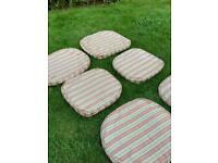 Garden Bench Cushions / Consevatory