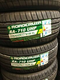 215/45/17 new budget tyres