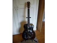 Recording King RM-998-R Steel Resonator Guitar Round Neck