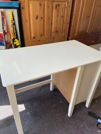 White children's Wooden desk from marks and Spencer's Hastings range