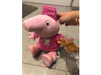 Peppa pig build a bear with accessories