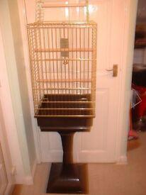 FERPLAST BIRD CAGE AND STAND