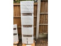Bathstore Rimni White Tall Towel Radiator New and Unused
