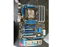 Intel i7 930, Asus 1366 socket motherboard, 12GB RAM Bundle