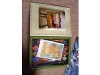 Watercolour Paint Sets, Assortment of Acyrlic Paints, Brushes & Accessories