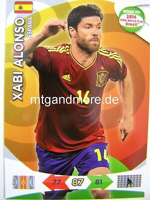 Adrenalyn XL - Xabi Alonso - Spanien - Road to 2014 FIFA...