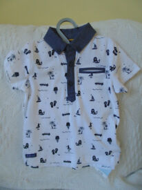 Joules & Mothercare - 2 baby boys polo type shirts