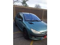 Peugoet 206 For sale , Due to car too small for new baby .
