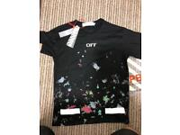 Men's Off- White t-shirt size small