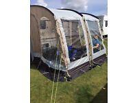 Caravan kampa rally 260 awning and carpet