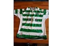6 x vintage Celtic F.C football tops