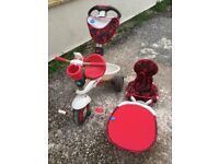 SmarTrike Touch Steering 4 in 1 (For ages 10-36 Months)
