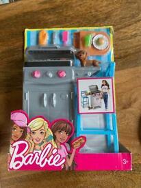 Barbie BBQ Garden Grill