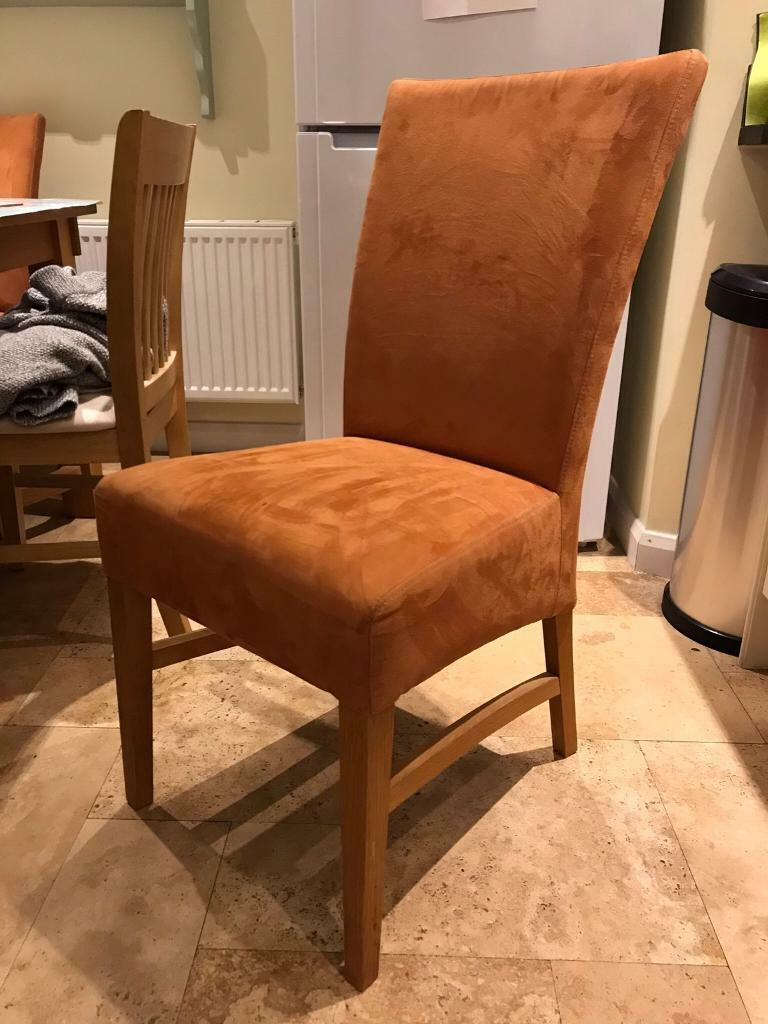 Oak Dinning Room Chairs