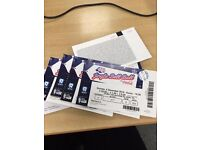 4 tickets for the Capital Jingle Bell Ball this Sunday