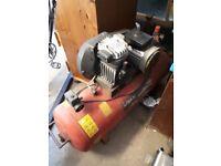 Sealey 150 litre 3hp air compresser for repair