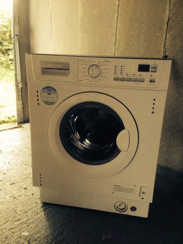 Washing Machine Electrolux Ewg12450w Integrated Aba
