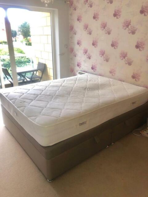 Terrific King Size Ottoman Bed With Tempur Mattress In Cardiff Bay Cardiff Gumtree Ibusinesslaw Wood Chair Design Ideas Ibusinesslaworg