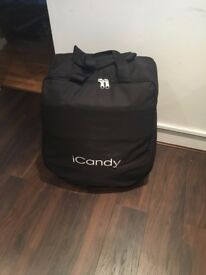 icandy peach with universal liner,car seat adapater,rain cover and travel bag