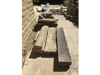 Reclaimed Lintels, Steps, & Coping Stones