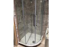Quadrant shower cubicle new design !