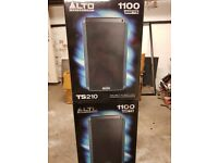"2 Alto Truesonic TS210 10"" Active PA Speaker"