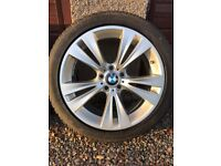 BMW X3/X4 (F25/F26) 19 inch Alloy Wheels with Winter Tyres SOLD