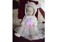 "Hooded furry ""Easter Bunny"" dress to fit 9-12 months BNWT - Shipley"
