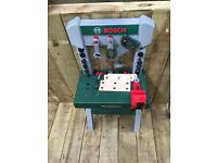 Kids Bosch work bench