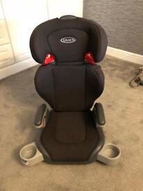 GRACO CHILD CAR SEAT - DETACHABLE BACK REST