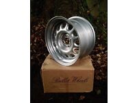 "Bullet 60 8"" x 15"" G60 steel wheels"