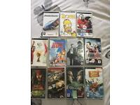 Psp games and movies