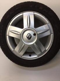 Renault Clio Dynamique 15'inch Alloy Wheel 2005 plate
