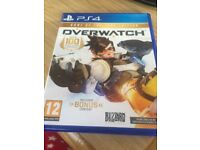 Ps4 overwatch like new