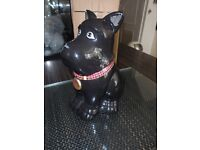 scotty dog biscuit barrel
