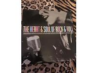 THE HEART & SOUL OF ROCK & ROLL, VINYL RECORD