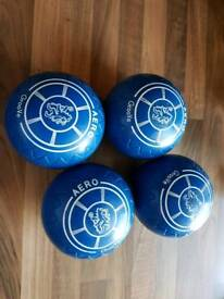 Lawn bowls aero grooves size 4