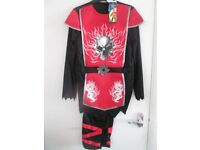 NEW boys fancy dress/halloween NINJA costume age 9-10