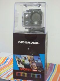 Meerveil T800 4K Action Camera Sport Camera WiFi Ultra HD Waterproof Camera