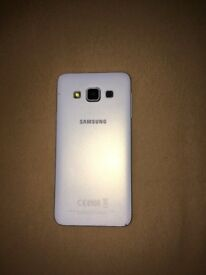 Samsung A3 with charger case and screen protector.