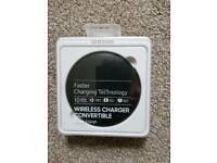 SAMSUNG WIRELESS CHARGER - PAD & STAND - BRAND NEW IN PACKAGING
