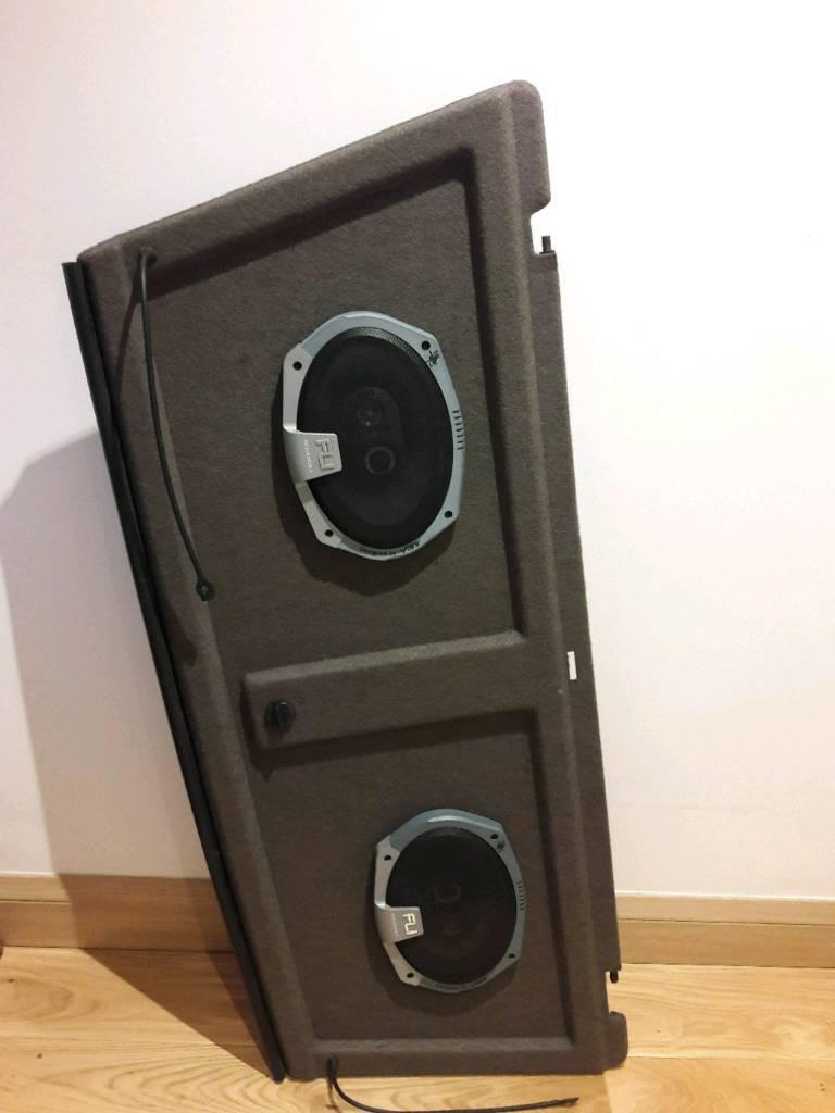 Austin Rover MG Metro Parcel Shelf with Fli Integrator 69 FI9-F2 Speakers