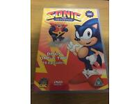 Sonic The Hedgehog on 2 Discs on DVD