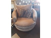 Cuddle chair armchair