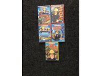 Fireman Sam DVD bundle x 5